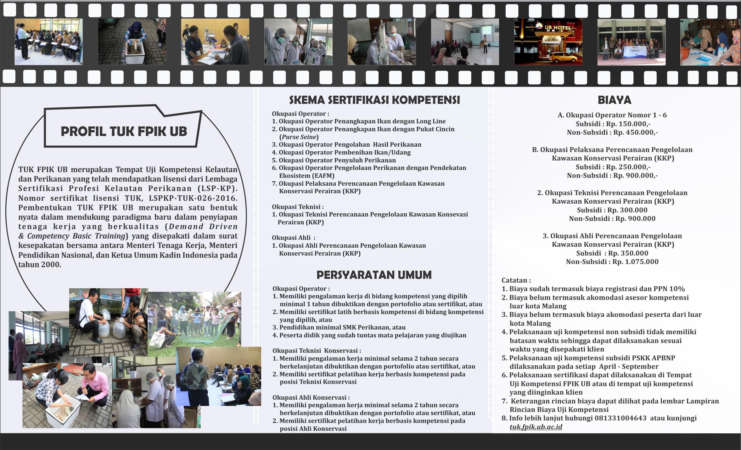 Fpik Fasilitasi Sertifikasi Kompetensi Bnsp Fakultas Perikanan Dan