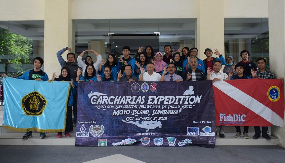 Pelepasan Ekspedisi Carcharias 1 : Outlook Universitas Brawijaya di Pulau Kecil