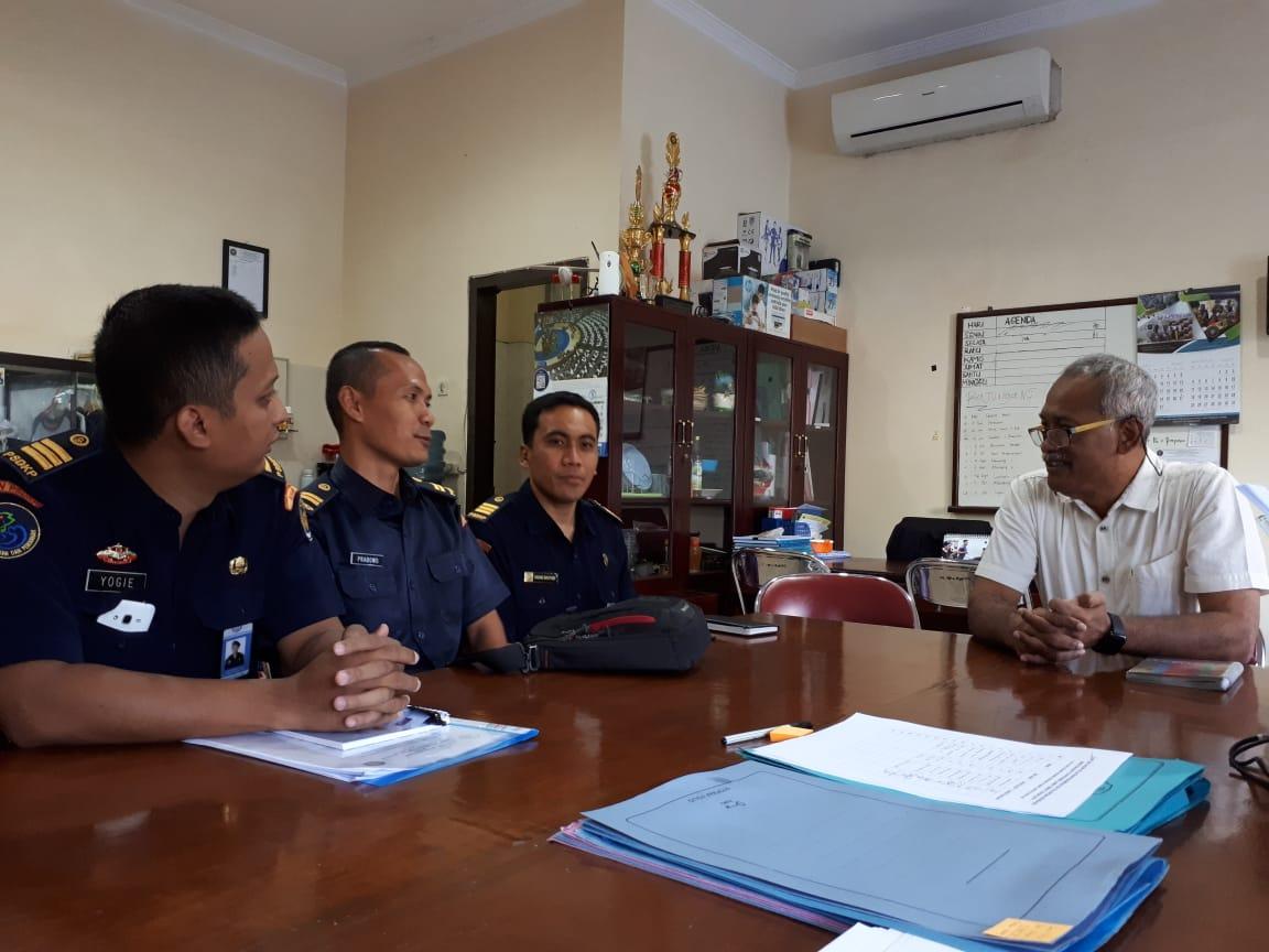 Inisiasi kerjasama FPIK UB dengan UPT PSDKP Cilacap