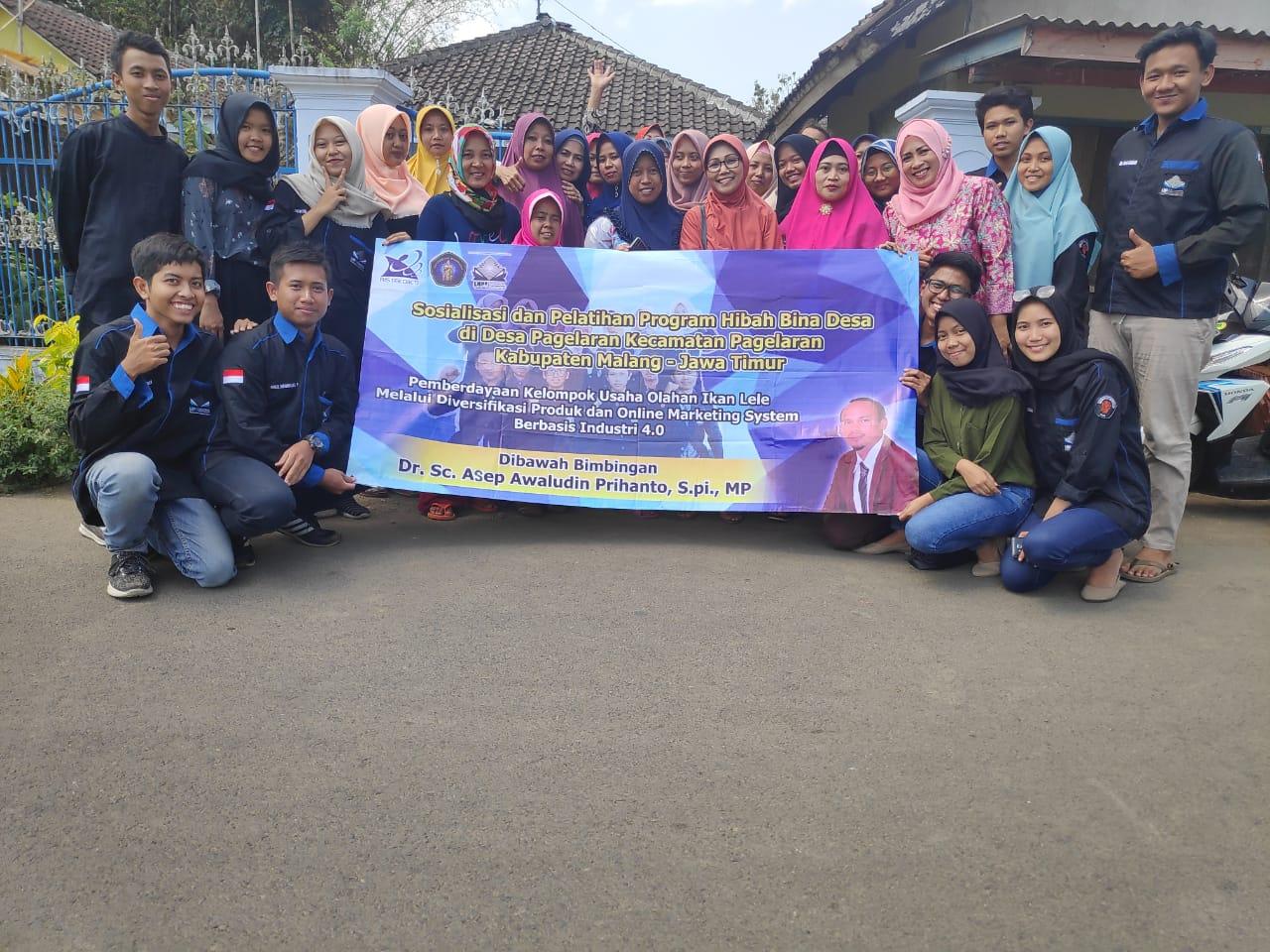 Mahasiswa FPIK Buat Inovasi untuk Kelompok Usaha Lele