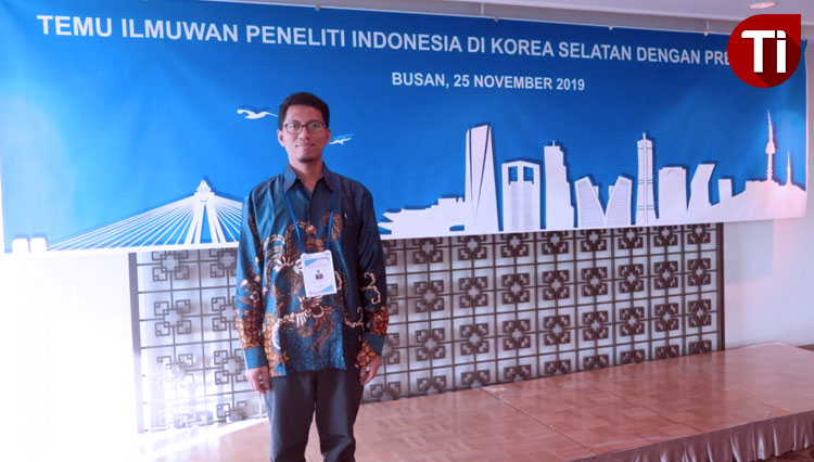 """Ade Yamindago, S.Kel, MP, M.Sc Delivered his Research Presentation on """"APIK"""" Conference at South Korea"""
