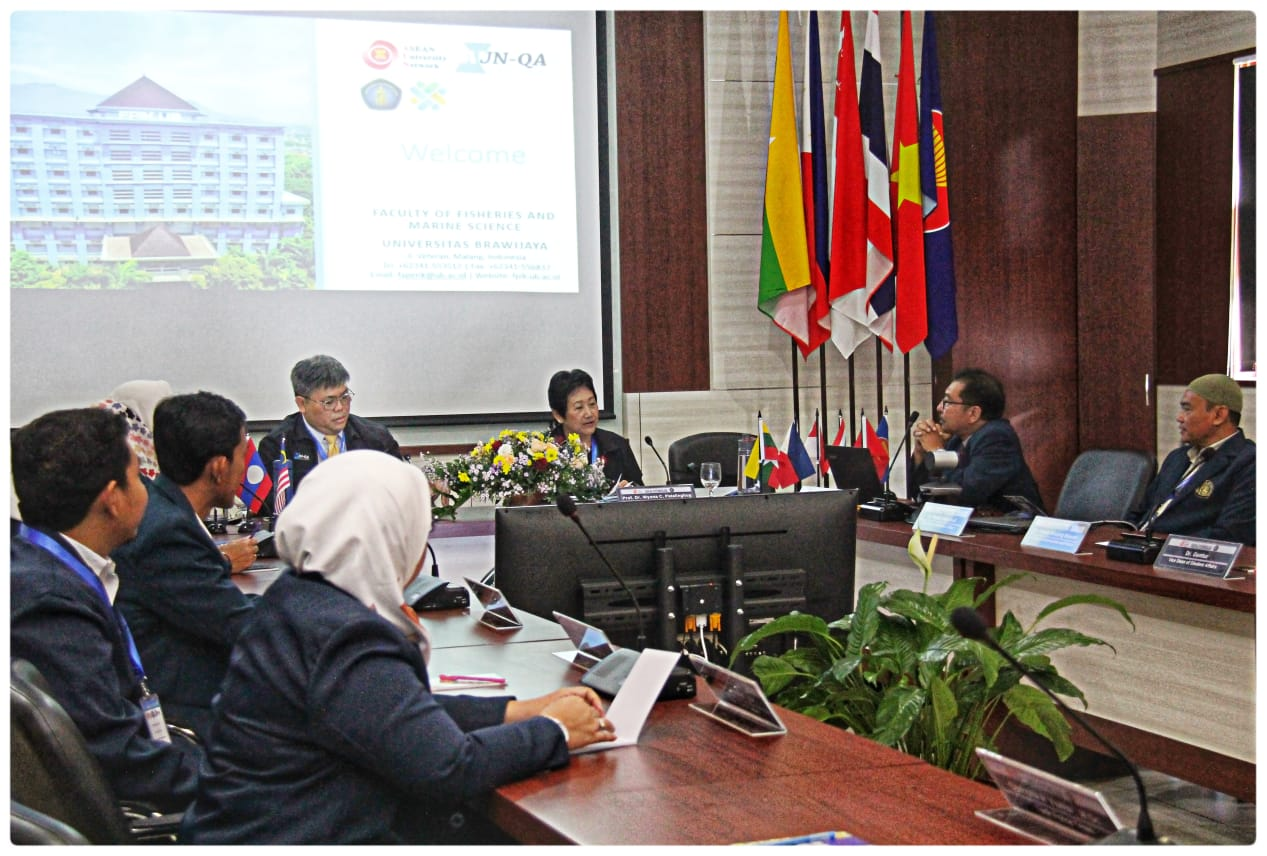 Visitiation of AUN-QA to Study Program Aquaculture