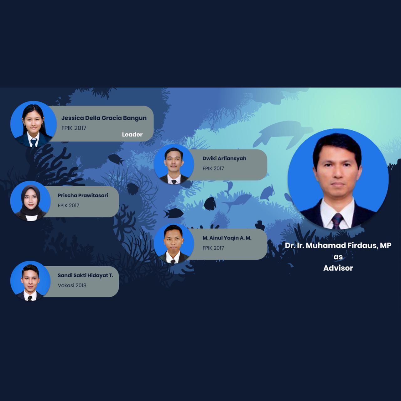 Mahasiswa FPIK UB Meraih Medali Perak pada World Science Environment and Engineering Competition 2021