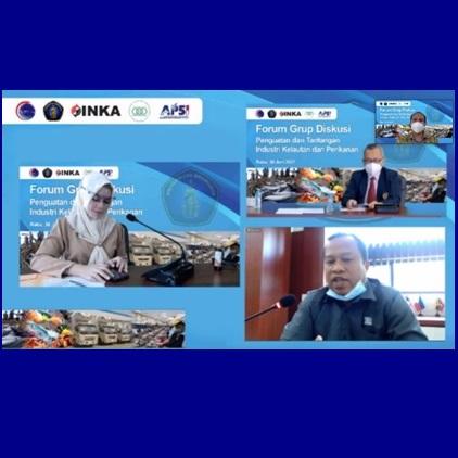 """FPIK UB, PT. INKA dan Kemenko Marves Adakan FGD """"Diskusi Pengembangan Teknologi Kontainer Berpendingin (Reefeer Container) untuk Penguatan Hilirisasi Industri Kelautan dan Perikanan"""""""